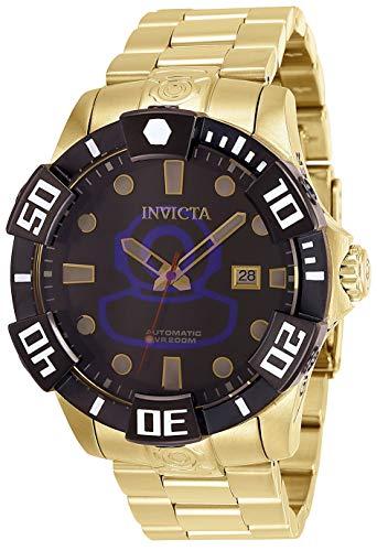 Invicta 26979 Pro Diver Herren Uhr Edelstahl Automatik schwarzen Zifferblat