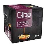 Qbo Kapseln - Espresso Sidama Royal (Kaffee, aromatisch, Anklänge von Zitrus) (27x8 Stück)