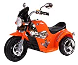 #7: HLX-NMC BATTERY OPERATED FUN CRUISER BIKE - ORANGE