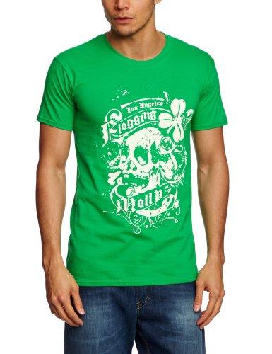 Plastichead - Maglietta, uomo, Verde (Grün (Green)), 2XL