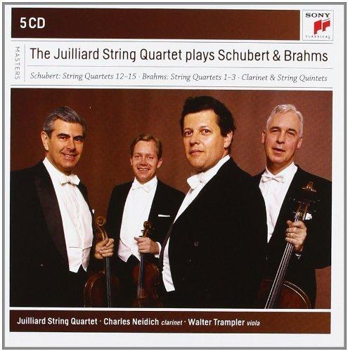 Juilliard String Quartet Plays Schubert & Brahms Box set, Import Edition by Juilliard String Quartet (2012) Audio CD Juilliard-set
