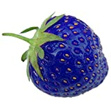 Rosepoem 100PCS Natural Organic Blue Strawberry Antioxidant Seeds Planta de Plantas Raras y Bonsai Jardín