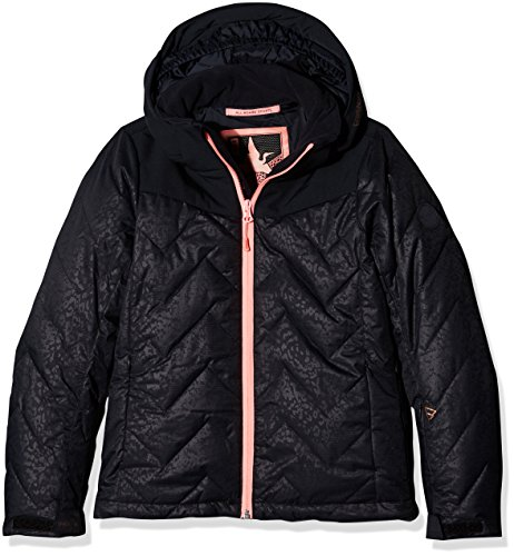 Brunotti Mädchen Sirry JR Snowjacket Jacke, Black, 176 (Schöne Lycra-kollektion)
