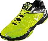 VICTOR SH-A830SP Badmintonschuh / Indoor Sportschuh / Squashschuh / Hallenschuh, grün/schwarz - Gr. 41