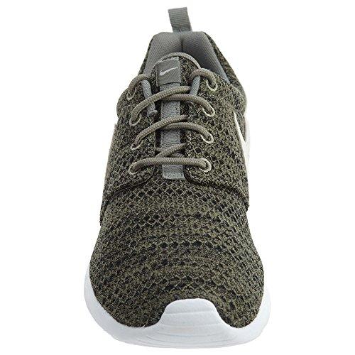 Nike Roshe Run, Chaussures de running fille Dark Stucco