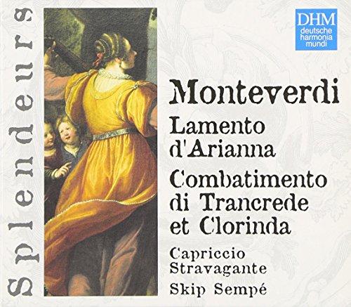 Monteverdi - Lamento d'Arianna / Combattimento di Tancrede e Clorinda (Coll. Splendeurs)