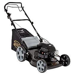 Einhell Benzin-Rasenmäher LE-PM 2014 Limited Edition, 1,9 kW, 46cm Schnittbreite, 6-fache Schnitthöhenverstellung, Radantrieb, Highwheeler