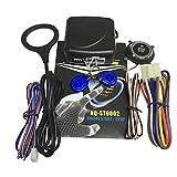 Monllack Auto-Alarmanlage mit Fernbedienung Car Push Button Keyless Entry Türschloss System Wesentliches Zubehör