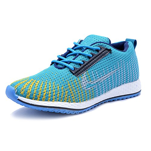 ROADSTAG Canvas Casual Party Wear Sneaker Shoes For Men/Boys | Size 9, SKYBLUE