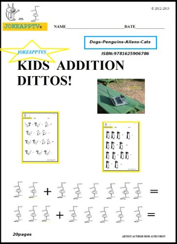 Kids Addition Ditto Book