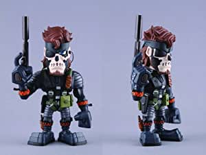 Metal Gear Solid 3: Naked Snake (Big Boss) (Zombie Face Paint) Vcd figurine