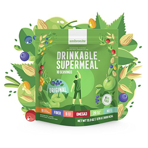 Meal Replacement Nutritional Shake by Ambronite -