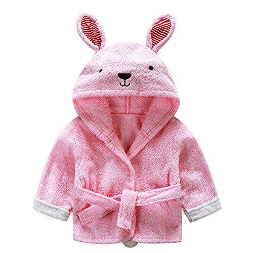 mainaisi bebé toallas de albornoz con capucha