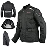 Best giacca moto - A-Pro Giacca Moto Scooter Tessile Gilet termico impermeabile Review