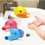 AJOYCN Kinder-Handwasch-Extender Guide Spüle Baby Waschhahn Erweiterung