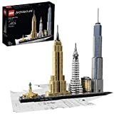LEGO 21028 Architecture New York City Model Building Set, Skyline Collection with 4 Buildings and Minature Statue of Liberty, Construction Collectible Gift Idea