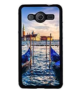 printtech Italy River Boats Gondola Back Case Cover for Samsung Galaxy Core i8262::Samsung Galaxy Core i8260