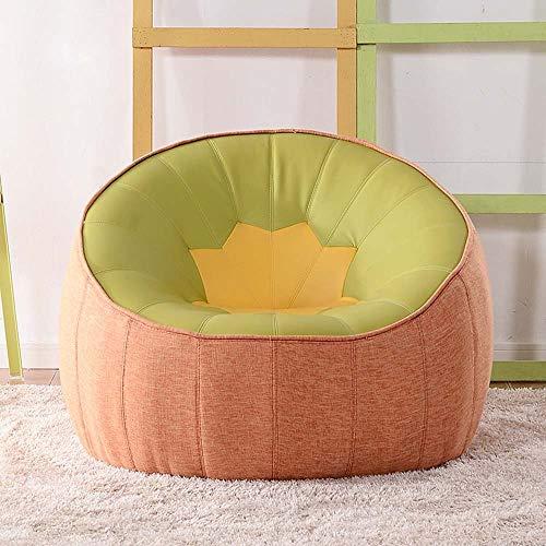 WENYAO Sofas Einzelstuhl Kreative Schlafzimmer Mit Lazy Liegestuhl Ambu Art Wohnzimmer Kleine Wohnung Lazy (Farbe Optional) (Farbe: # 8)