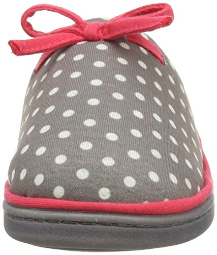 Dunlop Freesia, Chaussons femme Gris - Grey (Dove Grey)