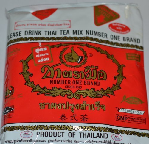 The Original Thai Iced Tea Mix ~ Number One Brand Imported From Thailand! 400g Bag Great for Restaurants That Want to Serve Authentic and High Quality Thai Iced Teas.