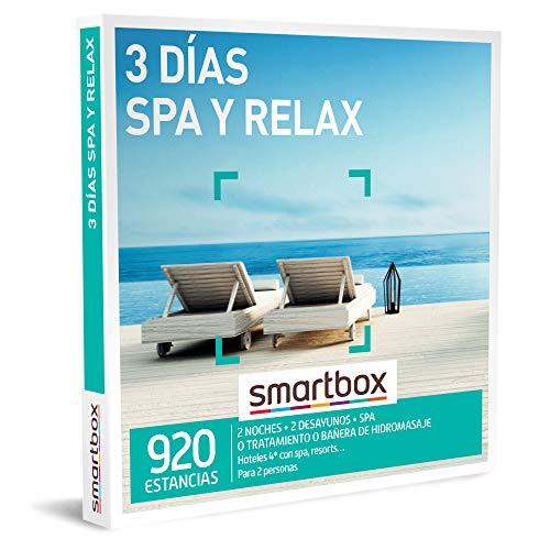 SMARTBOX - Caja Regalo mujer hombre pareja idea de regalo - 3 días spa y relax - 920 estancias en hoteles de hasta 4* con spa, resorts y mucho más