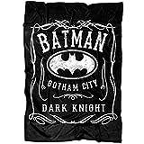 ARLSTORE Couverture Polaire Douce Batman Dark Knight I Love Batman Medium Blanket (60'x50') Fleece Blanket - Black