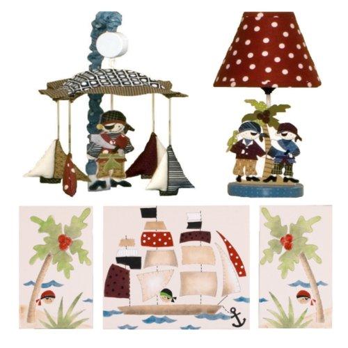 Cotton Tale Designs Decor Kit, Pirates Cove
