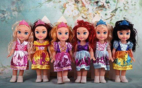 Schneewittchen Prinzessinnen Puppe mit Puppenkleidung, 35 cm - 3