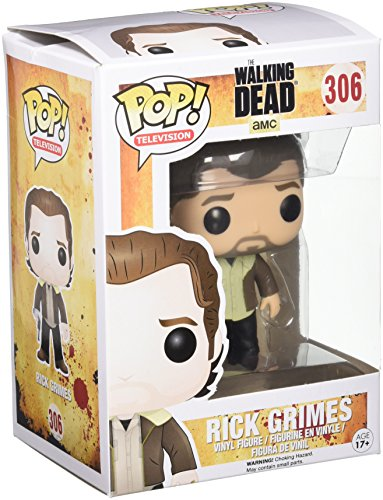 Funko - POP TV - Walking Dead - Season 5 Rick Grimes, Figurines & gadgets