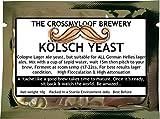 Home Brew Bier Hefe. Kolsch Lager Ale Hefe für leichte Deutscher Ales. 3, 5und 10Packungen erhältlich., 50 g