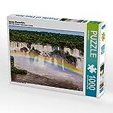 Iguaçu Wasserfälle 1000 Teile Puzzle quer: Brasilien - abseits von Rio (CALVENDO Orte)