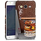 DeinDesign Samsung Galaxy J5 (2015) Hülle Premium Case Cover Zigarre Whiskey Whisky