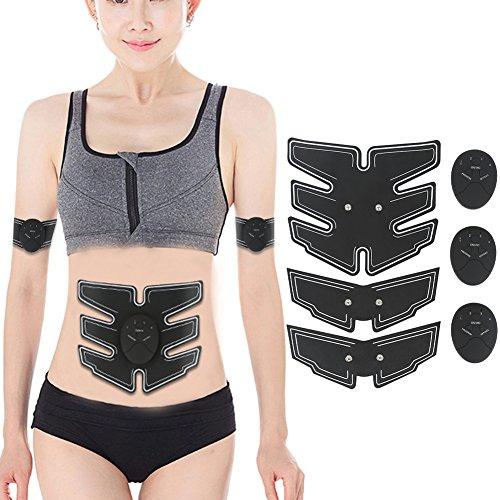 ddellk 6Modi Intelligente Bauchmuskeln Massage Arm Bauchmuskeln Fitness Training Gerät