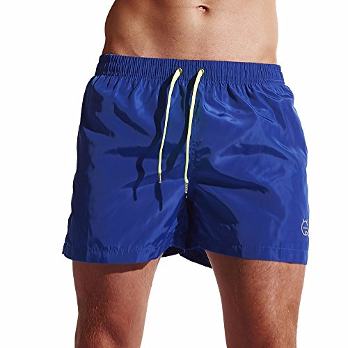 Kurze Probe-pack (Herren Shorts, Sunday Badehose Quick Dry Beach Surfing Laufen Schwimmen Watershort Outdoor Sports Kurze Hose (XL, Blau))