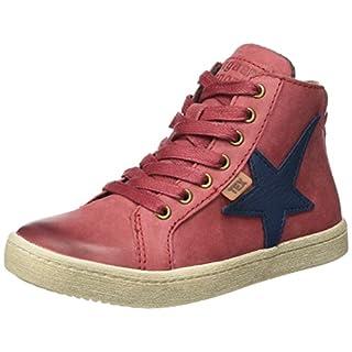 Bisgaard Unisex-Kinder Schnürschuhe Hohe Sneaker, Rot (921 Red), 36 EU