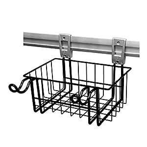 proteco werkzeug smartregal systemkorb metallkorb klein schwarz ca 30 cm baumarkt. Black Bedroom Furniture Sets. Home Design Ideas