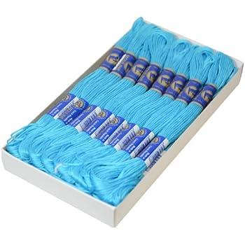 maDDma /® 1 Docke Stickgarn//Sticktwist 100/% Baumwolle #7292 Henna