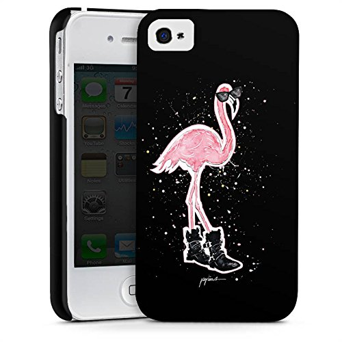 Apple iPhone X Silikon Hülle Case Schutzhülle Flamingo Sonnenbrille Schuhe Premium Case glänzend