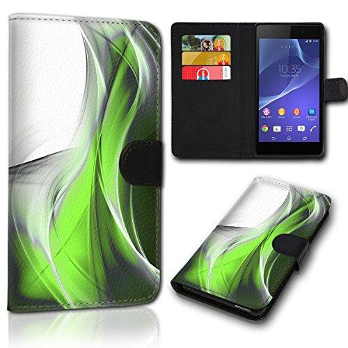sw-mobile-shop Book Style Wiko Jerry 2 Tasche Flip Brieftasche Handy Hülle Kartenfächer für Wiko Jerry 2 - Design Flip SVH1175