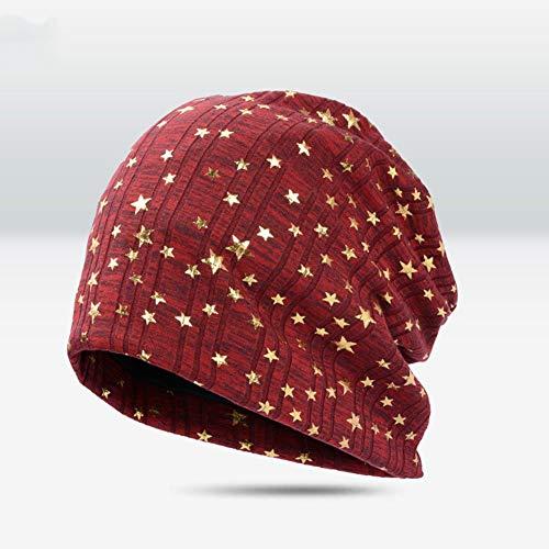 SCJ Hut Baumwolle Conical Kronen 55-59cm 4 Farben (Farbe: ROT) -