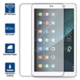 Beiuns Film Protection d'écran en Verre Trempé Ultra Dur Protecteur d'écran pour Huawei MediaPad T1 10,0 (Ecran: 9,6 Pouces)
