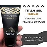 YMCHE Original Russia Titan Gel Gold Special per Men Cream Enhancement Maschile Lubrificante Sex Time Delay Gel