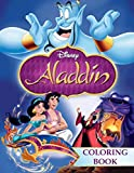 Aladdin Coloring Book: 50 Exclusive Illustrations