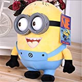 #8: Minion Soft Toys With 3D Eyes Big For Kids - Girls and Boy | Birthday Return Gifts Multi Colour 30 CM