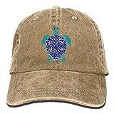 Wdskbg Men Women Sea Turtle Jeanet Baseball Hat Adjustable Trucker Cap