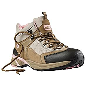 Site Ladies Safety Trainer Boots Beige Size 7