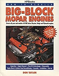 Big-Block Mopar Engines (How to Rebuild) by Don Taylor (1994-10-01)