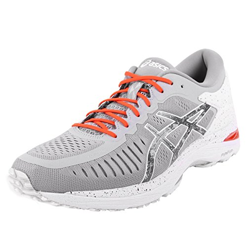 Asics MetaRun Concrete Grey Shu Red Hazy White Gris