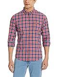 U.S.Polo.Assn. Men's Casual Shirt (8907259665269_USSH4228_Small_Coral Haze)