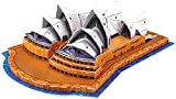 Playtastic Faszinierendes 3D-Puzzle Opera House in Sydney, 58 Puzzle-Teile